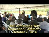 Dedcication Ceremony for Neil Armstrong Way